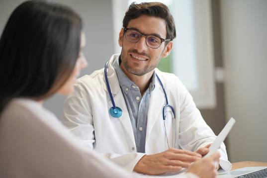 Arztberatung im Gespräch